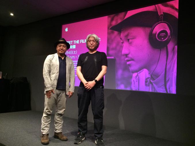 映画『日本で一番悪い奴ら』の白石和彌監督が「Meet the Filmmaker」@Apple Store銀座に登場!