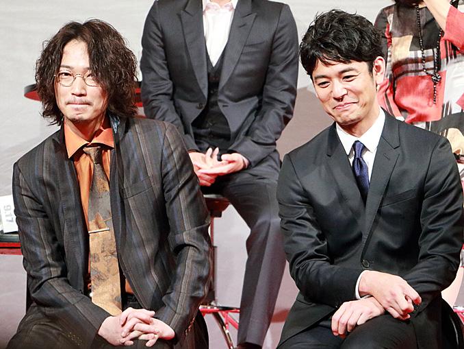 妻夫木聡と綾野剛は似た者俳優、映画『怒り』完成報告会見にて