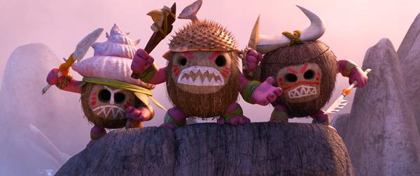 ココナッツ海賊のカカモラ、映画『モアナと伝説の海』(ロン・クレメンツ&ジョン・マスカー監督)より