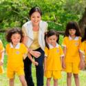 5人の園児たちの可愛らしさ、映画『小さな園の大きな奇跡』(エイドリアン・クワン監督)より