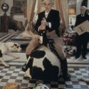 クリストファー・リー、飼い犬のダルメシアンにしか興味がない風変わりな大富豪ルドルフ