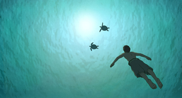 映画『レッドタートル ある島の物語』(マイケル・デュドク・ドゥ・ヴィット監督