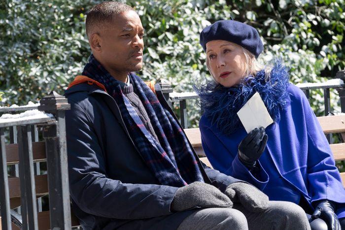 ウィル・スミスとヘレン・ミレン、映画『素晴らしきかな、人生』(デヴィッド・フランケル監督)より