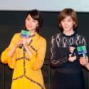 左から山本美月、本田翼、第13回香港アジアン映画祭『少女』ティーチインにて