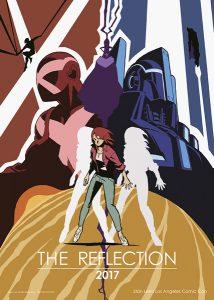 映画『THE REFLECTION(ザ・リフレクション)』(スタン・リー×長濱博史監督)ティザービジュアル