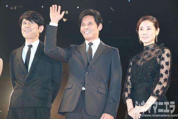 原田泰造、織田裕二、吉田羊、映画『ボクの妻と結婚してください。』完成披露試写会にて