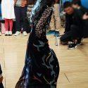 中島美嘉、極細ヒールとドレス丈がベストバランス