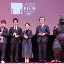 ARIGATO賞の新海誠監督、妻夫木聡、高畑充希、ゴジラ