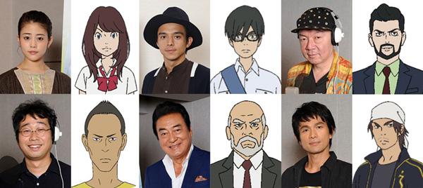 映画『ひるね姫~知らないワタシの物語~』より高畑充希らCV6名のアフレコとインタビュー映像