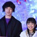 坂口健太郎とmiwa、映画『君と100回目の恋』コラボクリスマスツリー点灯式イベンにて
