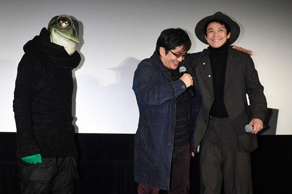 大友監督「このプロジェクト自体がチャレンジ」、映画『ミュージアム』第29回東京国際映画祭舞台あいさつにて