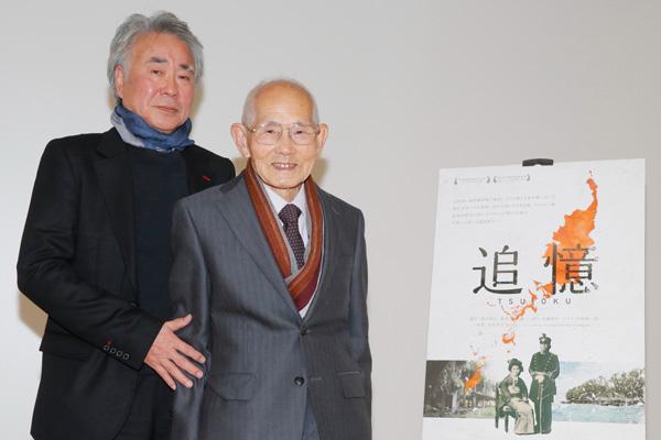 小栗監督と土田さん、映画『追憶』公開初日イベントにて