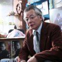 柳原朔太郎(斉木しげる)、映画『3月のライオン』(大友啓史監督)より