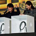 菜々緒vs.上地雄輔「ハコの中身をヒットせよ!」、映画『土竜の唄 香港狂騒曲』バトルプレミアイベントにて
