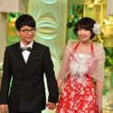 森山みくり(新垣結衣)と津崎平匡(星野源)、新婚さんいらっしゃーい!のパロディか