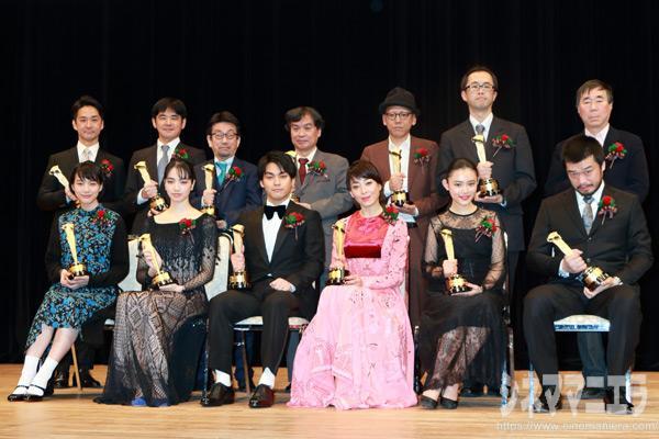 2016年 第90回キネマ旬報ベスト・テン授賞式 @東京・文京シビックホール大ホール