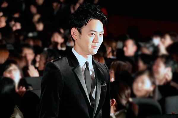妻夫木 聡、映画『愚行録』公開初日舞台あいさつにて