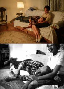 映画『ラビング 愛という名前のふたり』劇中シーンと実際の写真との比較