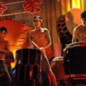 海帝祭のふんどし太鼓シーン、映画『帝一の國』より