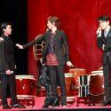 志尊淳が野村周平を静止するよう促す一幕も、映画『帝一の國』完成披露試写会舞台挨拶
