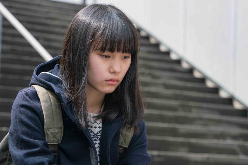 薫を演じた南沙良、映画『幼な子われらに生まれ』(三島有紀子監督)より