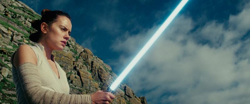 スター・ウォーズ/最後のジェダイ(原題 Star Wars: The Last Jedi ) 、デイジー・リドリー演じるレイ