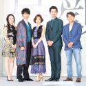 左から伊藤歩、斎藤工、上戸彩、平山浩行、西谷弘監督、映画『昼顔』ファンミーティングにて