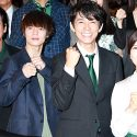 左から唐沢寿明、窪田正孝、藤木直人、和久井映見
