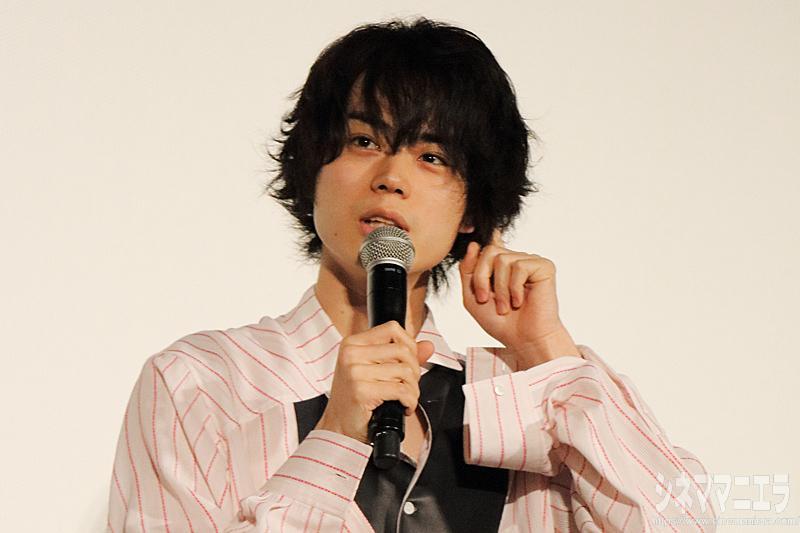 菅田将暉、映画『帝一の國』卒業セレモニーに泣きそう!