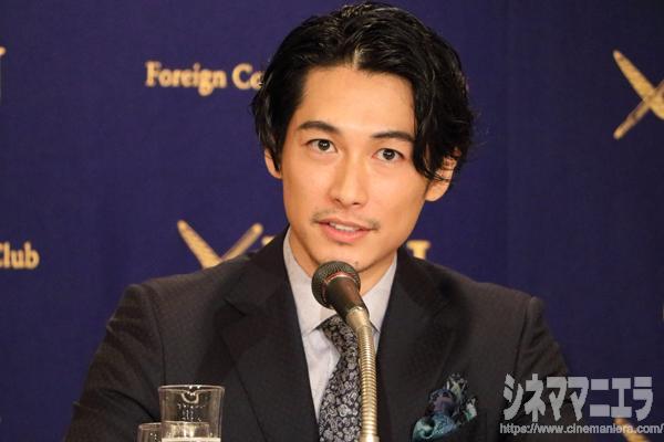 俳優のディーン・フジオカが6月20日、外国特派員協会にて主演映画『結婚』の記者会見に応じた