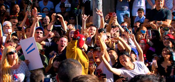 映画『スパイダーマン:ホームカミング』ワールドプレミア @米国ロサンゼルス ハリウッド TCLチャイニーズシアター
