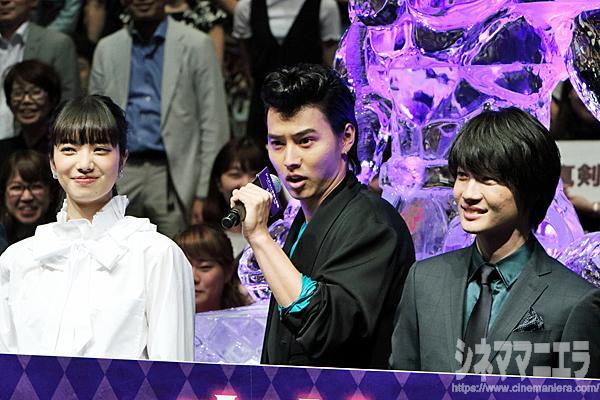 山﨑賢人「夏は!」観客「ジョジョ!」コールを実施