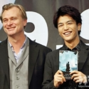 映画『ダンケルク』来日記者会見にて、ノーラン監督と岩田剛典(三代目J Soul Brothers、EXILE)