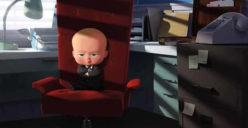 映画『ボス・ベイビー』(原題 THE BOSS BABY )