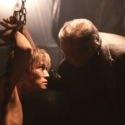 コブラ(岩田剛典)&黒崎君龍(岩城滉一) 場面写真、映画『HiGH&LOW THE MOVIE 3 / FINAL MISSION』より