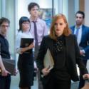 エリザベス・スローンはチームに「ピーターソン&ワイアット」への移籍を発表、映画『女神の見えざる手』(原題 Miss Sloane )より