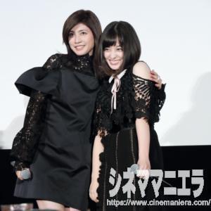 内田有紀と橋本環奈のおっふ撮影