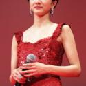 満島ひかり、 第30回東京国際映画祭オープニングセレモニーにて