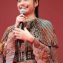 宮﨑あおい、 第30回東京国際映画祭オープニングセレモニーにて