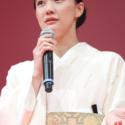 蒼井優、 第30回東京国際映画祭オープニングセレモニーにて