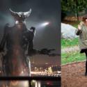 ダメウーマンのグロリアとシンクロしている怪獣ショット