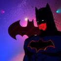 バットマン、映画『DCスーパーヒーローズvs鷹の爪団』(ワーナーブラザース映画 配給)より