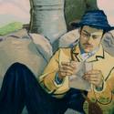 主人公アルマン・ルーラン(ダグラス・ブース)、映画『ゴッホ 最期の手紙』より
