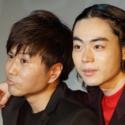 菅田と川谷、カメラマンから「コンビっぽく」とのリクエストを受けて、この表情