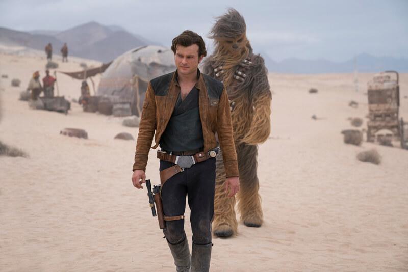 映画『ハン・ソロ/スター・ウォーズ・ストーリー』(原題 Solo: A Star Wars Story )