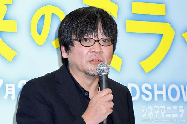 細田守監督、映画『未来のミライ』製作発表会見