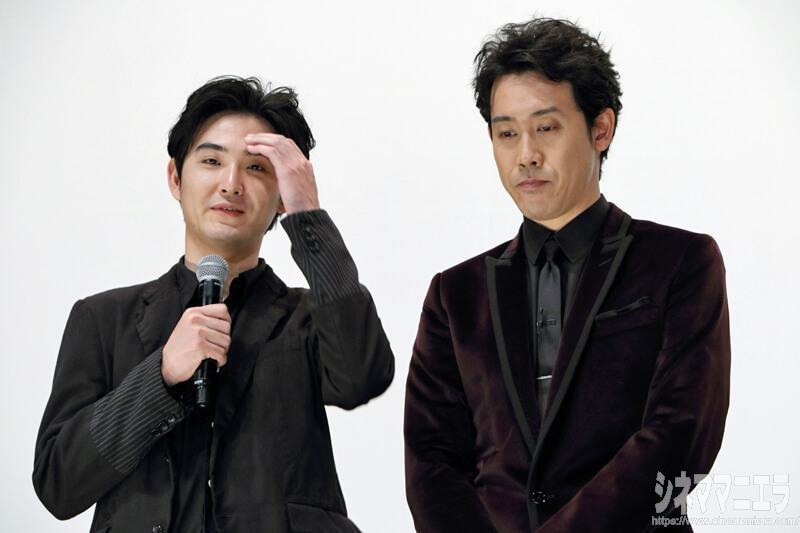 返答に困る松田、神妙な面持ちの大泉
