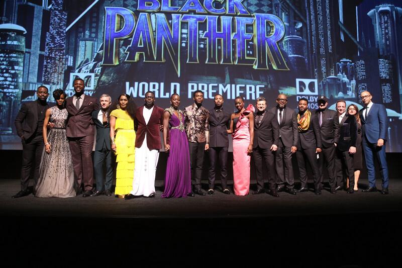 映画『ブラックパンサー』ワールドプレミア開催