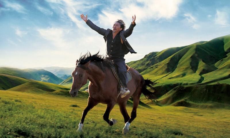 映画『馬を放つ』(原題 Centaur )