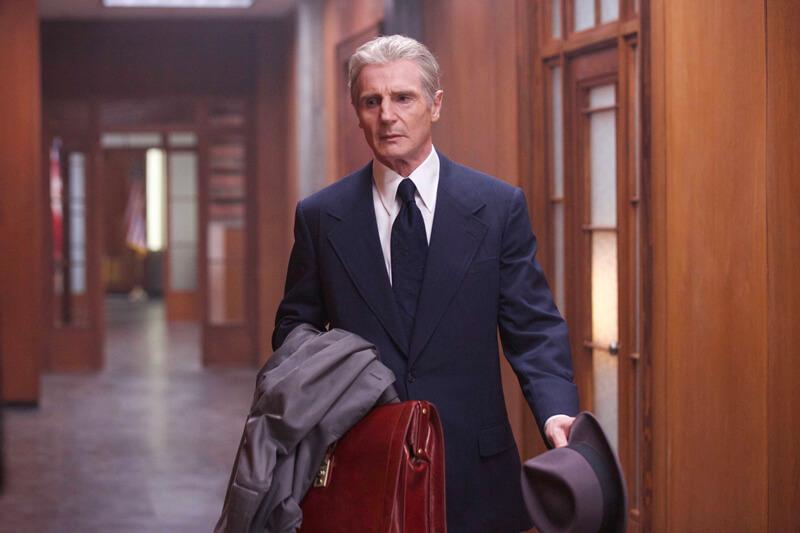 FBI副長官マーク・フェルトを演じたリーアム・ニーソン